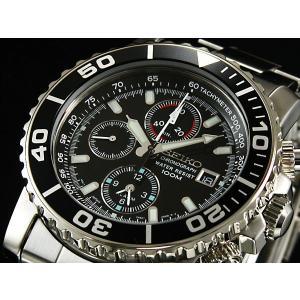セイコー SEIKO アラーム クロノグラフ 腕時計 SNA225P1|rcmdfa