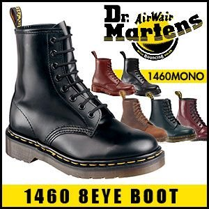 ドクターマーチン Dr.Martens 8ホール ブーツ 1460 8 EYE BOOT BLACK CHERRY RED NAVY|rcmdfa|01