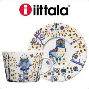 iittala イッタラ Taika カップ&ソーサー ホワイト 0.2L/15cm rcmdfa