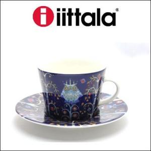 iittala イッタラ Taika カップ&ソーサー ブルー 0.2L 15cm rcmdfa