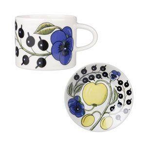 ARABIA コーヒー カップ&ソーサー 0.18L/14cm|rcmdfa