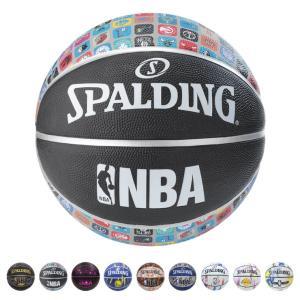 SPALDING バスケットボール 5号球 NBA公認 ラバー 野外 柄物 小学校 ミニバス バスケ