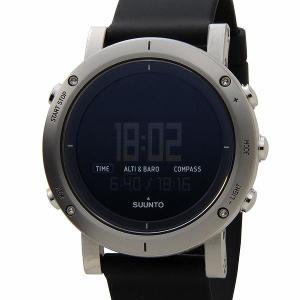 スント SUUNTO 腕時計 CORE コア ブラッシュド スティール SS020339000 デジタル ブラック|rcmdfa