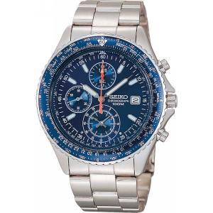 セイコー パイロットクロノグラフ腕時計 ブルー...の関連商品5