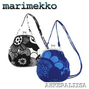 marimekko マリメッコ ショルダー式 ガマ口 ポーチ AHKERALIISA  HORSMA 37510 rcmdfa
