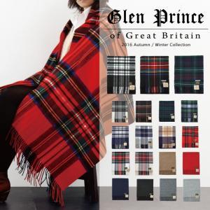 グレンプリンス Glen Prince ストール レディース 大判ストール スカーフ マフラー 20...