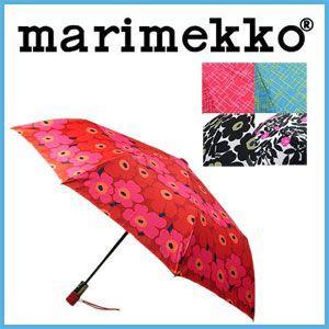 マリメッコ 傘 ウニッコ 911 折りたたみ ワンタッチ marimekko 折りたたみ傘 ミニオート|rcmdfa