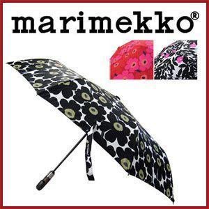 マリメッコ 傘 ウニッコ 912 折りたたみ ワンタッチ marimekko 折りたたみ傘 オートオープン rcmdfa