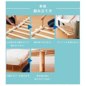 脚付きロールマットレス ボンネル シングル 脚付きマットレス ベッド 一体型 マットレス シングルベッド 脚付マット 脚付き 脚付|rcmdhl|12