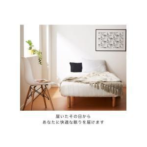 脚付きロールマットレス ボンネル シングル 脚付きマットレス ベッド 一体型 マットレス シングルベッド 脚付マット 脚付き 脚付|rcmdhl|14