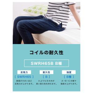 脚付きロールマットレス ボンネル シングル 脚付きマットレス ベッド 一体型 マットレス シングルベッド 脚付マット 脚付き 脚付|rcmdhl|04