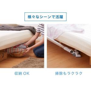 脚付きロールマットレス ボンネル シングル 脚付きマットレス ベッド 一体型 マットレス シングルベッド 脚付マット 脚付き 脚付|rcmdhl|08
