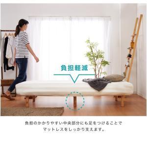 脚付きロールマットレス ボンネル シングル 脚付きマットレス ベッド 一体型 マットレス シングルベッド 脚付マット 脚付き 脚付|rcmdhl|09