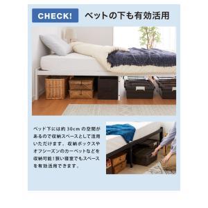 パイプベッド マットレスセット ベッドフレーム シングル ベッド ポケットコイルロールマットレス 圧縮ロールパッケージ仕様|rcmdhl|11