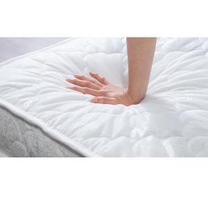 パイプベッド マットレスセット ベッドフレーム シングル ベッド ポケットコイルロールマットレス 圧縮ロールパッケージ仕様|rcmdhl|15