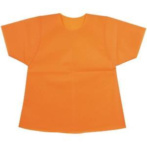 衣装ベース C シャツ オレンジ 運動会 発表会 イベント 衣装ファッション|rcmdhl