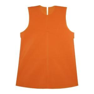 衣装ベース C ワンピース オレンジ 運動会 発表会 イベント 衣装ファッション|rcmdhl