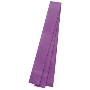 カラー不織布ハチマキ 紫 運動会 発表会 イベント たすきはちまき|rcmdhl