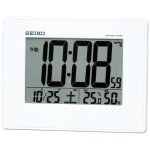 セイコー 掛置兼用電波目覚まし時計 SQ770W 代引不可|rcmdhl