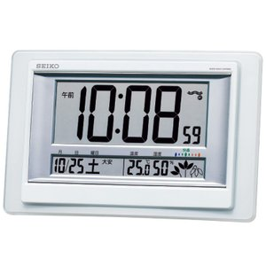 セイコー 掛置兼用電波時計 SQ432W 代引不可|rcmdhl