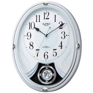SmallWorld 電波メロディ掛時計