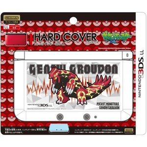 ジュピター 3DSLL用 ハードカバーforニンテンドー3DSLL(ゲンシグラードン) P057  代引不可
