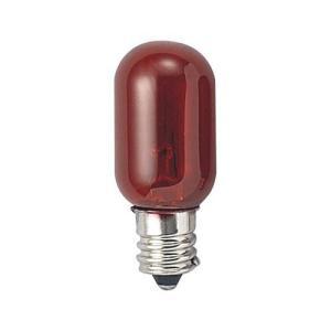 YAZAWA ナツメ球5Wクリアレッド T201205CR 家電 照明器具 その他の照明器具 代引不可|rcmdhl