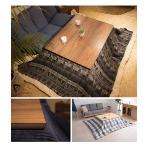 フラットヒーターコタツ 幅105 コタツ 炬燵 こたつテーブル こたつ モダン 木製 一人暮らし 長方形 おしゃれ シンプル 代引不可|rcmdhl|02
