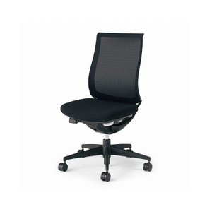 コクヨ オフィスチェア ベゼル CR-2800E6GME6-V モデレートタイプ 樹脂脚 ブラック フローリング用 配送・組立・設置込 代引不可|rcmdhl