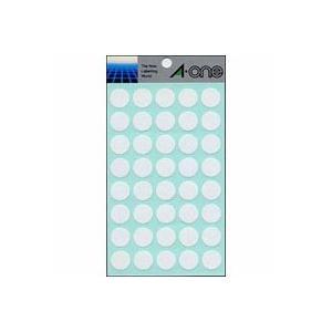 エーワン カラーラベル 15mm丸 白 1 ...の関連商品10