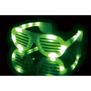 ELEX光るサングラス 緑 代引不可 rcmdhl