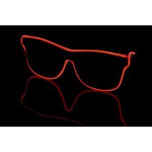 ELEX光るラインサングラス 赤 代引不可|rcmdhl