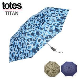 TOTES トーツ 折りたたみ傘 TOTES TITAN タイタン 60cm 3sec 7559 メンズ レディース 自動開閉 オートマチック ワンプッシュ|rcmdhl