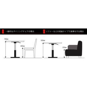ルネセイコウ 昇降テーブル ブランチ ヘキサテーブル 日本製 組立品 BRX-645T 代引不可|rcmdhl|03