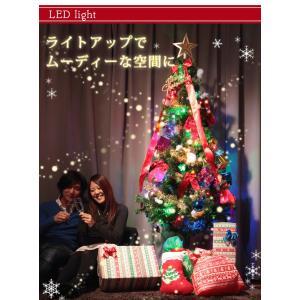 クリスマスツリー 120cm オーナメントセット 7点 クリスマス ツリー セット 飾り イルミネーション 電飾 LEDライト 北欧 おしゃれ LED|rcmdhl|04