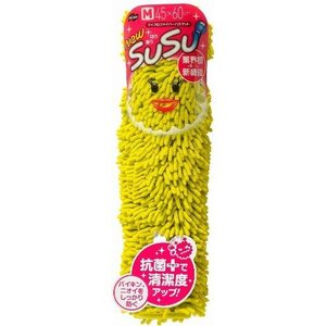山崎産業 SUSU バスマット 速乾 抗菌 トロピカルグリーン 45x60cm rcmdhl