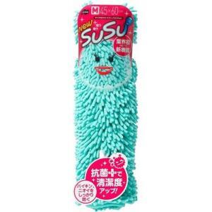 山崎産業 SUSU バスマット 速乾 抗菌 アイスグリーン 45x60cm rcmdhl