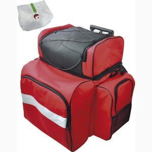 【商品詳細】  ≪商品説明≫ 肩掛け・背負う・引く3通りの持ち方ができる3WAYバッグ。 反射テープ...