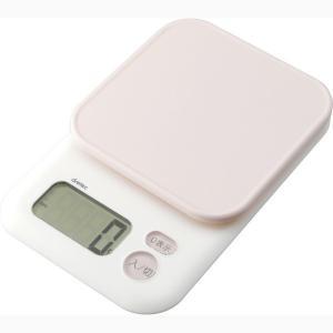 【商品詳細】  ≪商品説明≫ ・計量物をのせやすい大きな計量皿・見やすい大画面表示で、計量も簡単・操...