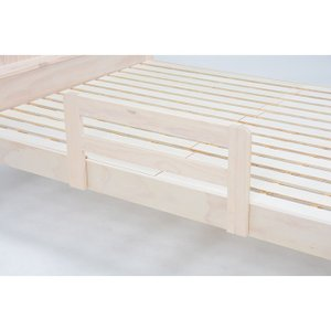(約)幅75×奥行5×高さ37cm ■ 組立式 主材:パイン ベッドサイドにベッドガードを組み合わせ...