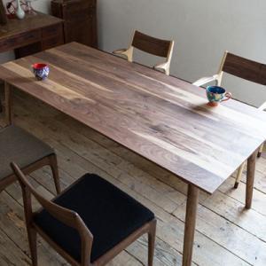ノードダイニングテーブル Lサイズ 180cm ウォルナット 無垢材 代引不可 rcmdhl