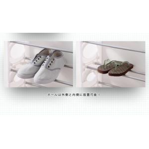 シューズラック 10段 収納 靴箱 シューズボックス 下駄箱 薄型 スリム 靴入れ シューズbox|rcmdhl|05