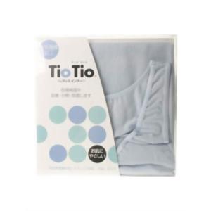 TioTio タンクトップ ブルー L 代引不可|rcmdhl