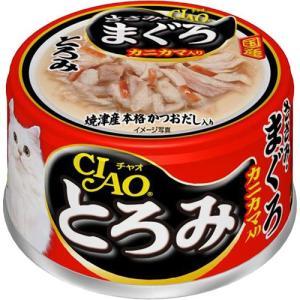 チャオ とろみ ささみ・まぐろ カニカマ入 80gの商品画像