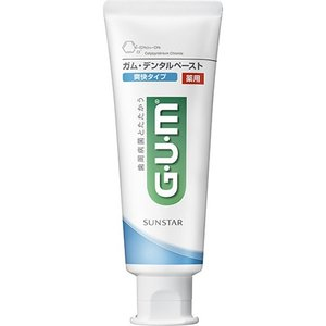 GUM(ガム) 薬用デンタルペースト 爽快タイプ 120g