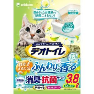 デオトイレ ふんわり香る消臭・抗菌サンド 3.8L