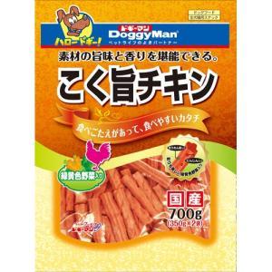 ドギーマン こく旨チキン 緑黄色野菜入り 350g×2袋