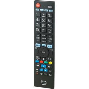 ELPA メーカー別テレビリモコン 日立・ウー専用 RC-TV009HI