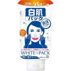 【発売元:ウテナ】お肌の色を簡単コントロール!今すぐ白くなりたい方にぴったりの白肌パック!くすみ肌※...