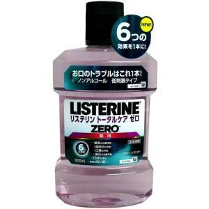薬用 LISTERINE リステリン トータルケア ゼロ ノンアルコールタイプ 医薬部外品 1000ml